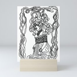 Sea Goddess Vellamo Mini Art Print