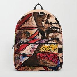 Damn,rapper,goat,poster,shirt,hiphop,wall art,decor,mascline,portrait,lyrics,rap Backpack