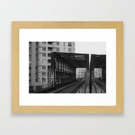 Ourcq 2 Framed Art Print