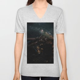 Velaris, City of Starlight, Night Court, A Court of Thorns and Roses Unisex V-Neck