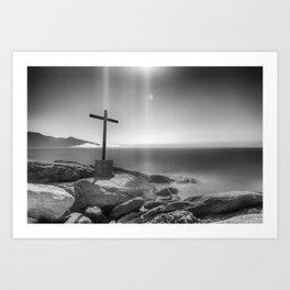 corpus christi Art Print