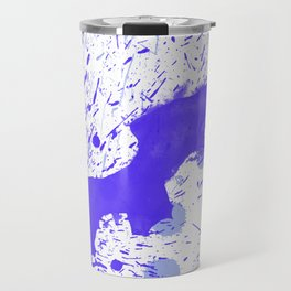 Blue Explosion Travel Mug