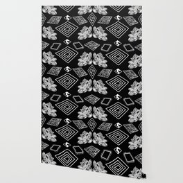 Black and White Diamonds Wallpaper