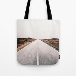 ROAD - HIGH WAY - LANDSCAPE - PHOTOGRAPHY - NATURE - ADVENTURE - SKY Tote Bag
