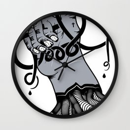 Carpal Tunnel Wall Clock
