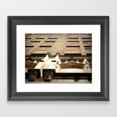 At an Angle Framed Art Print