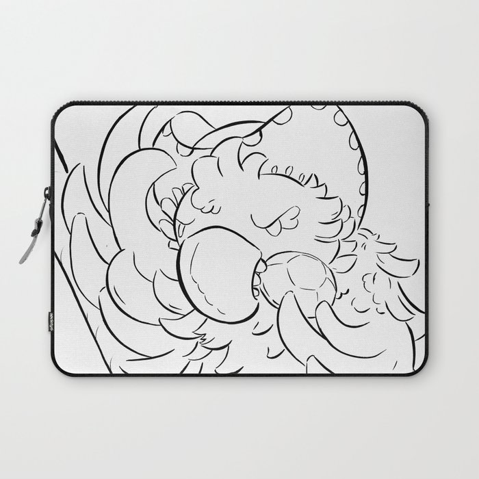 Pirate Parrot - ink Laptop Sleeve