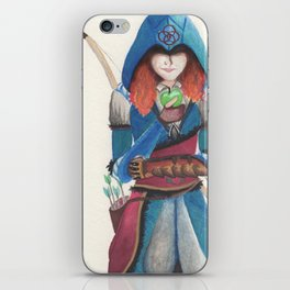 Assassin Merida iPhone Skin
