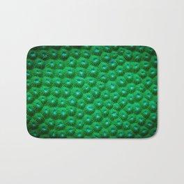 Green Curl Polyps Bath Mat
