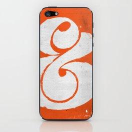 Ampersand iPhone Skin