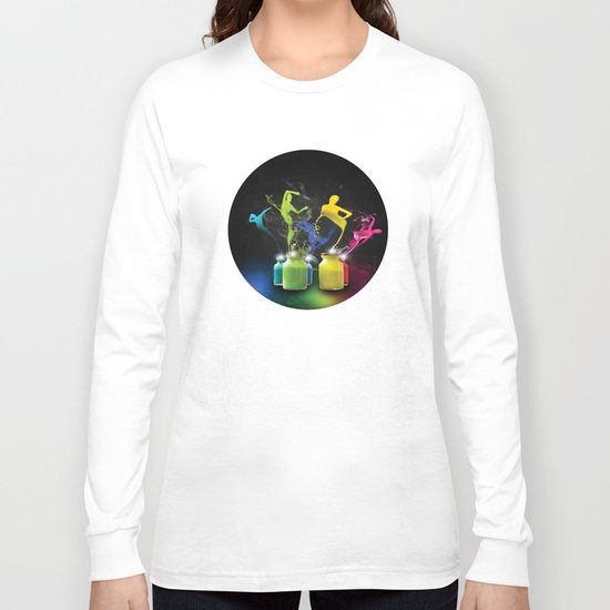Paint Dancers Long Sleeve T-shirt