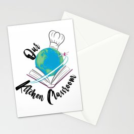 Our Kitchen Classroom Logo Stationery Cards