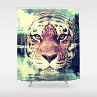 blur Shower Curtains featuring Blur by IntuiXion
