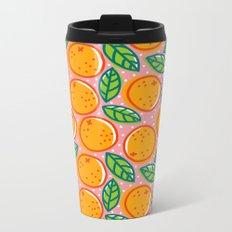 Oranges Metal Travel Mug