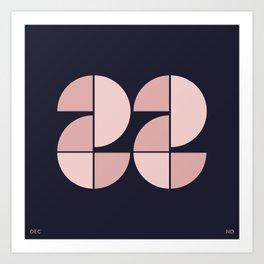 DEC 22 Art Print