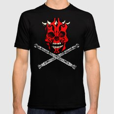 Maul's Bones Mens Fitted Tee X-LARGE Black