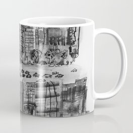 NYC gray Coffee Mug