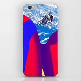 Space Woman iPhone Skin