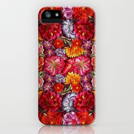 """Rose Huipil Embroidered"" iPhone Case"