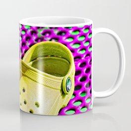 Pop Art Crocs By Sharon Cummings Coffee Mug