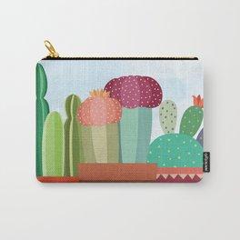 Cactus Trio Carry-All Pouch