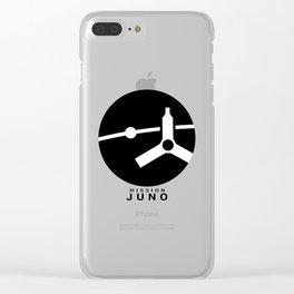 Juno Ops (Orbital Insertion) Team Logo Clear iPhone Case