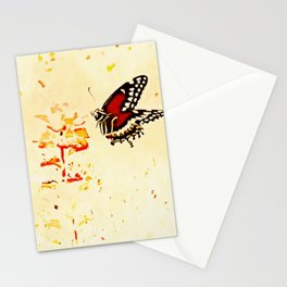 Swallowtail Coming In For A Landing Stationery Cards