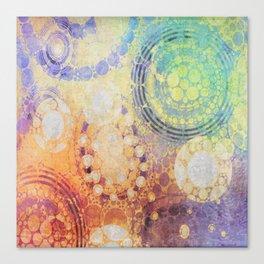 Circles Carnival Canvas Print