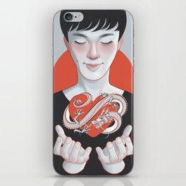 dragon heart iPhone Skin