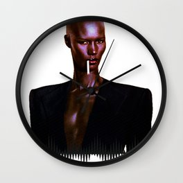 Grace Jones Wall Clock