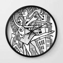 Unreality Tango - popcore 05 Wall Clock
