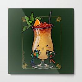 Food Series - Trinidad Cobbler Metal Print