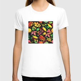 Multi Color Leaves T-shirt