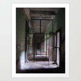Ward for the Criminally Insane Art Print