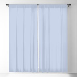 From Crayon Box – Periwinkle Blue - Pastel Blue Solid Color Blackout Curtain