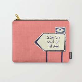 Tel Aviv This way Carry-All Pouch