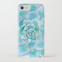 succulent iPhone & iPod Cases featuring Succulent by Susan Windsor