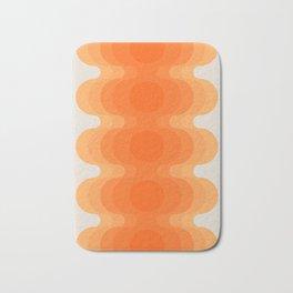Echoes - Creamsicle Bath Mat