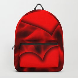 Red Heart 11 Backpack