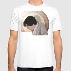 The Royal Sheet Mens Fitted Tee White MEDIUM