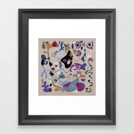 Wobbly Framed Art Print