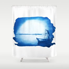 Dreamer - by Mindia Shower Curtain