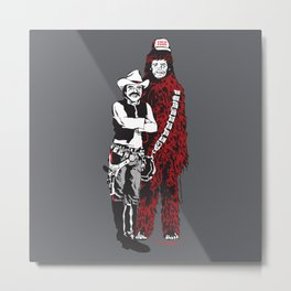 East bound and down in a galaxy far, far away... Metal Print