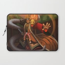 Puzzle and Dragons' Goemon Laptop Sleeve
