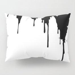 Dripping Ink Pillow Sham