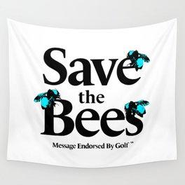 SAVE THE BEES - GOLF WANG Wall Tapestry