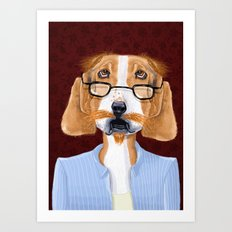 Mr. Retired Art Print