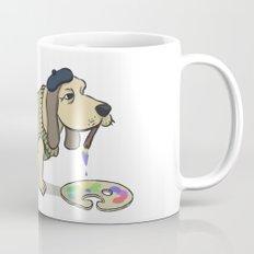 A Painting Dog Mug