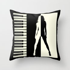 My sound of music Throw Pillow