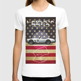 Laguna Seca Racetrack Vintage T-shirt
